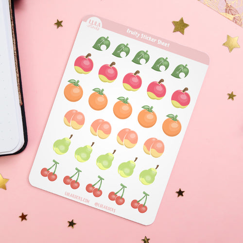 Fruity Planner Sticker Sheet