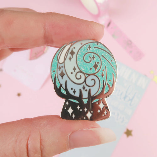 Prophecy Orb Enamel Pin