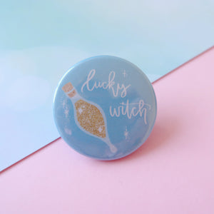 Lucky Witch Felix Felicis Badge