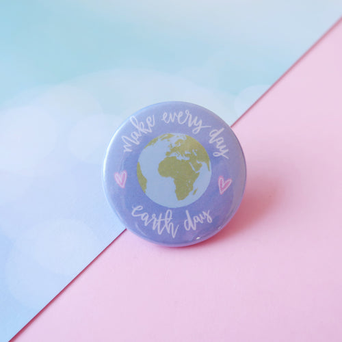Earth Day Badge