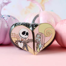 Load image into Gallery viewer, Jack & Sally Enamel Pin Set