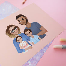 Load image into Gallery viewer, Custom Portrait Illustration