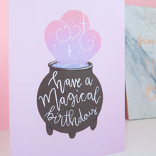 Load image into Gallery viewer, Magical Birthday Greeting Card