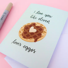 Load image into Gallery viewer, Mint Eggo Greeting Card