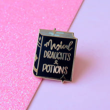 Load image into Gallery viewer, Potion Book Enamel Pin