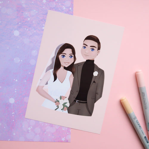Custom Portrait Illustration