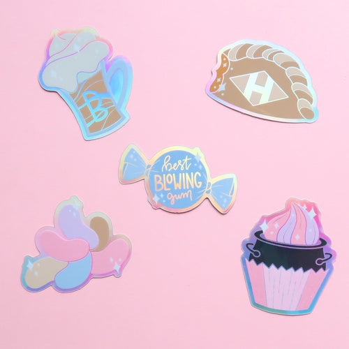 Wizarding Treats Holographic Stickers