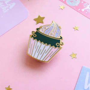 Cauldron Cake Enamel Pin