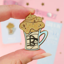 Load image into Gallery viewer, Light Butterbeer Enamel Pin