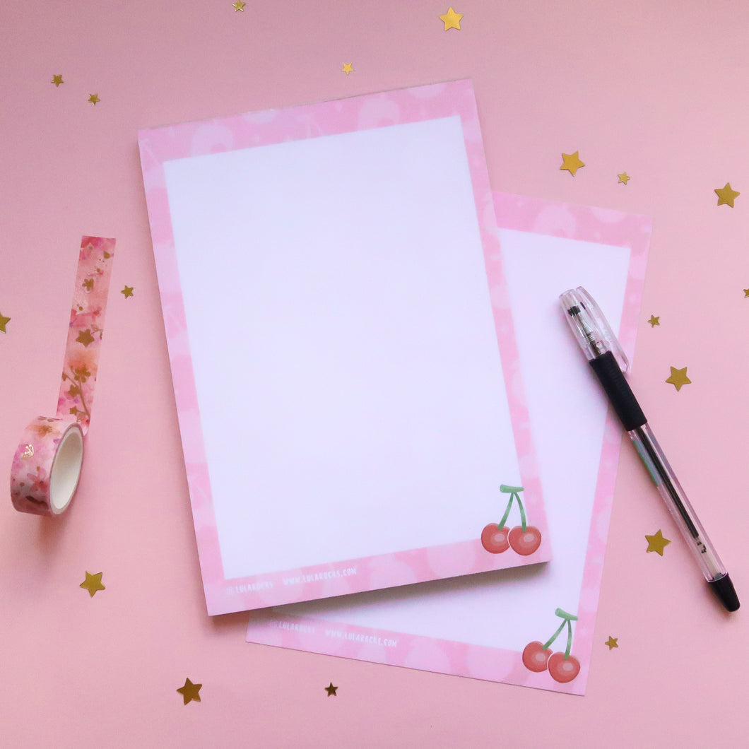 Fruity A5 Notepad - Dotted