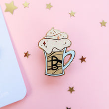 Load image into Gallery viewer, Butterbeer Enamel Pin