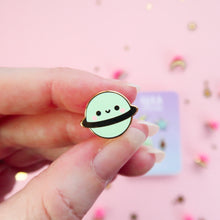 Load image into Gallery viewer, Kawaii Space Blue Enamel Pin Set