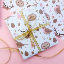 Load image into Gallery viewer, Soft Woodland Gift Wrap