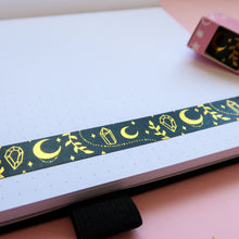 Load image into Gallery viewer, Magic Moon Gold Foil Washi Tape