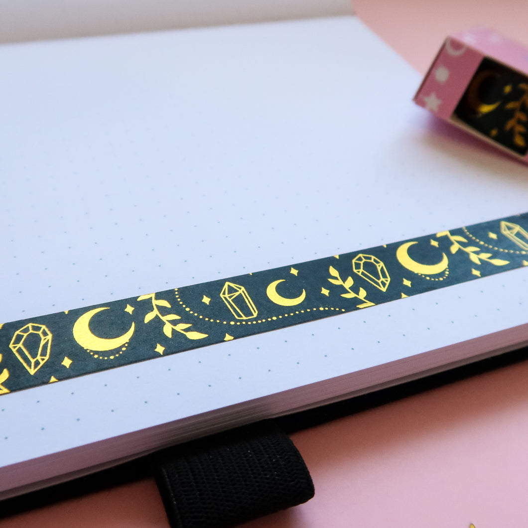 Magic Moon Gold Foil Washi Tape