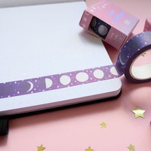 Load image into Gallery viewer, Moon Phase Washi Tape