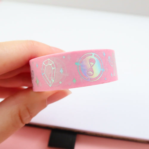 Trinkets Holographic Foil Washi Tape