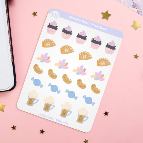 Wizarding Treats Sticker Sheet