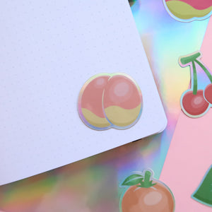Fruity Holographic Stickers