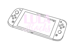 Design Your Own Games Console Colouring Page