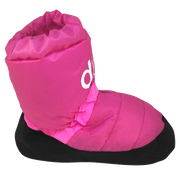 dboot dessential lollypop warm up boots dance wear side view