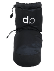 dboot dluxe warm up boot dance wear onyx black