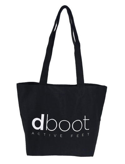 dboot dance wear warm up boots accessories black tote bag