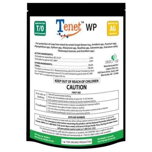 Blacksmith BioScience Tenet® WP Biofungicide