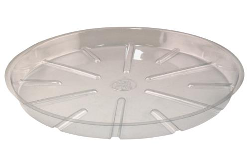 Bond® Clear Plastic Saucers
