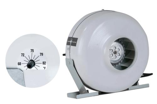 Can-Fan® Inline Fans With Thermostats