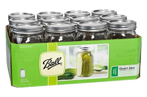 Ball® Wide Mouth Jars
