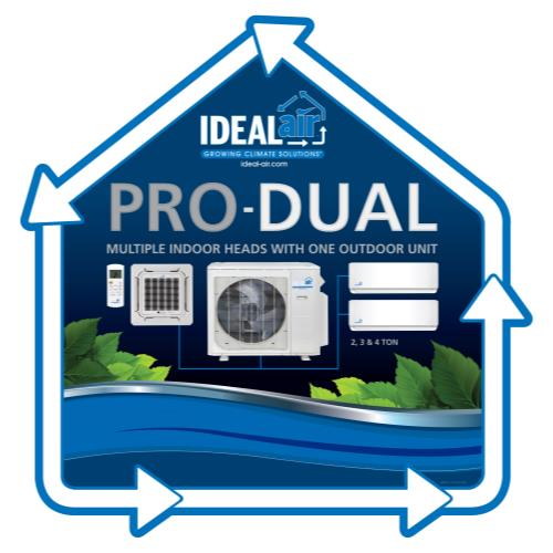 Ideal-Air Pro-Dual Window Cling