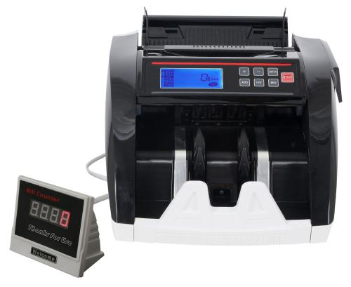 High Roller LCD Bill Counter & Counterfeit Detector (2/Cs)