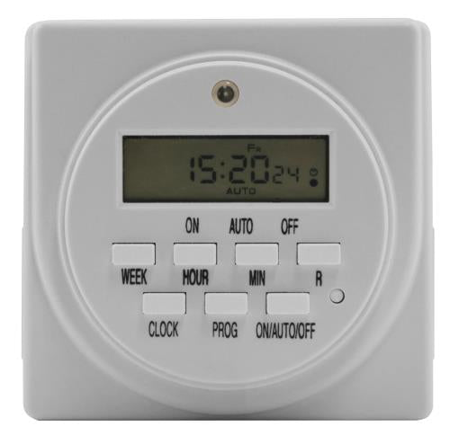 Titan Controls Apollo 9 - Two Outlet Digital Timer (10/Cs)