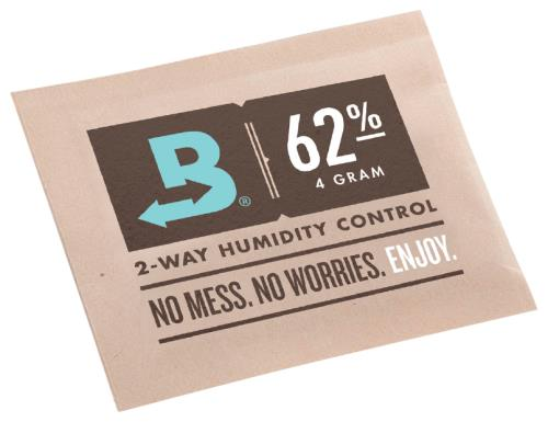 Boveda 4g 2-Way Humidity 62% (600/Pack)