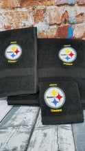Pittsburgh Steelers Embroidered 3 Piece Towel Set Personalized