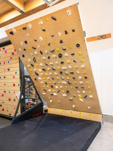 "Grasshopper Adjustable Climbing Wall (""OG Crank"")"