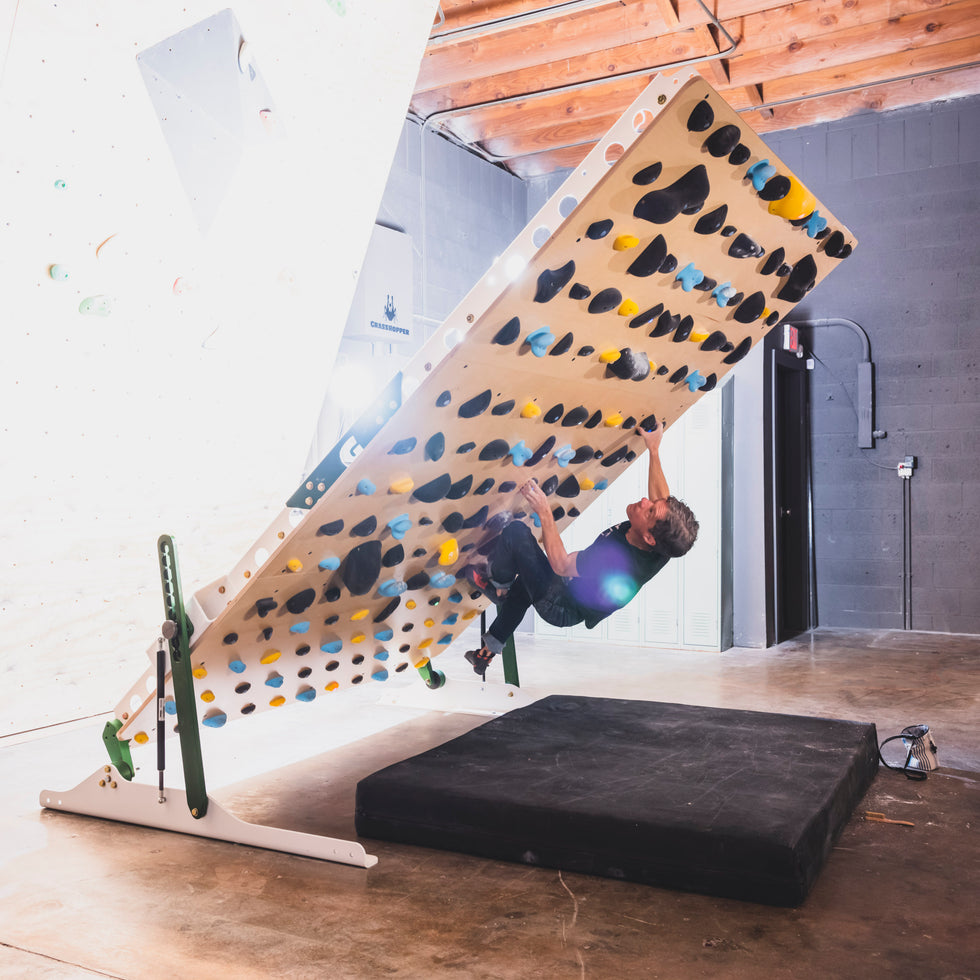 Ninja 8x10 Adjustable Climbing Wall