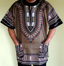 Load image into Gallery viewer, Plus Size African Dashiki! Unisex Daishiki! 1X 2X 3X!