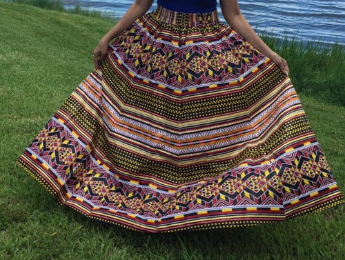 Long Flared Skirt One Size Fits Most!!