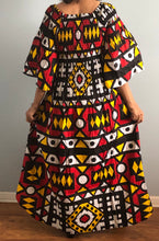 Load image into Gallery viewer, High Low Dress in African Print!! One Size Fits Most!!