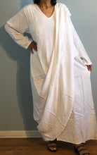 Load image into Gallery viewer, Boho Morrocan Magic Dress| Long Sleeves Layered Shawl Drape| Can be worn in several ways.