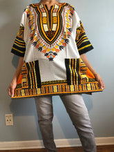 Load image into Gallery viewer, Plus Size African Dashiki! Unisex Daishiki! 1X 2X 3X