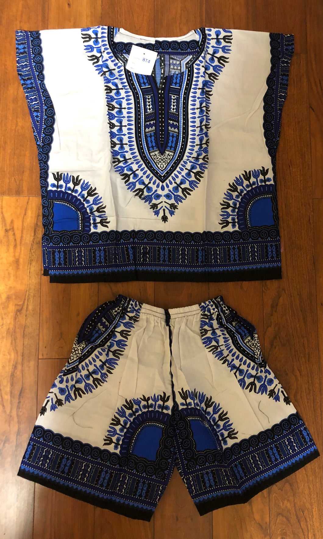 Kids Dashiki Shorts Set!