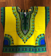 Load image into Gallery viewer, Kids Dashiki Available in Different Colors Unisex
