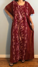Load image into Gallery viewer, 100% Cotton Caftan ! Plus Size ! One Size Fits  !!