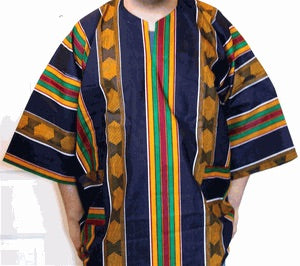 African Kente Daishiki !!! Plus Size Unisex Daishiki! One Size Fits Most !!