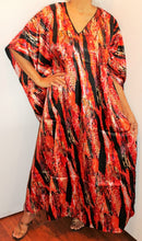 Load image into Gallery viewer, Silky Satiny Look Plus Size Kaftan Caftan 1X 2X 3X 4X!