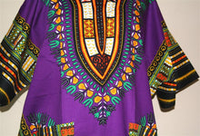 Load image into Gallery viewer, Plus Size African Dashiki! Unisex Dashiki! 1X 2X 3X