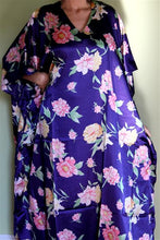 Load image into Gallery viewer, Silky Satiny Look Plus Size Kaftan Caftan ! 1X 2X 3X 4X !!